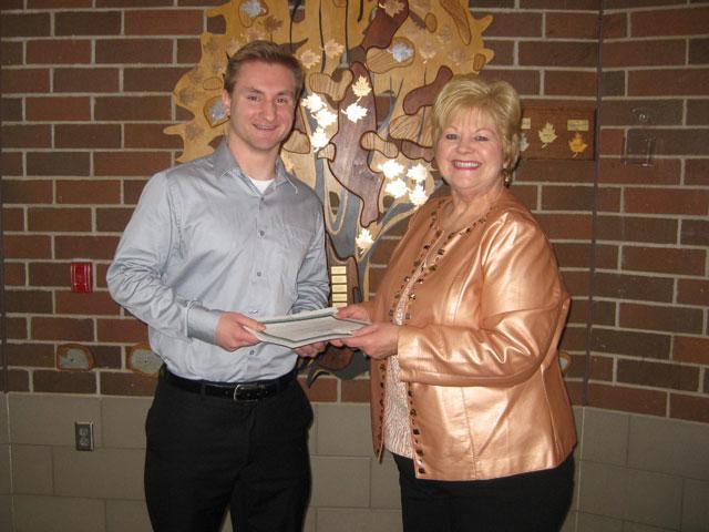 Daniel Soderlund 2013 scholarship winner