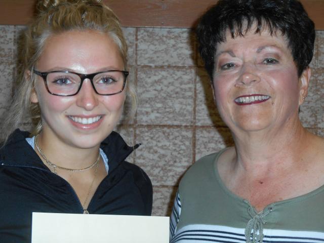 Emma Hock 2019 scholarship winner