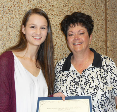 Katie Browne 2016 scholarship winner
